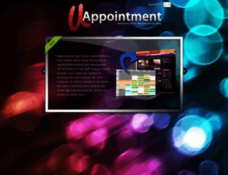 uappointment.com screenshot