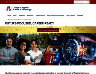 uas.arizona.edu screenshot
