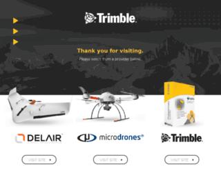 uas.trimble.com screenshot