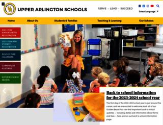 uaschools.org screenshot