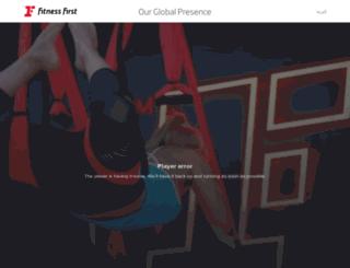 uat.fitnessfirstme.com screenshot