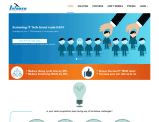 uat.intaase.com screenshot