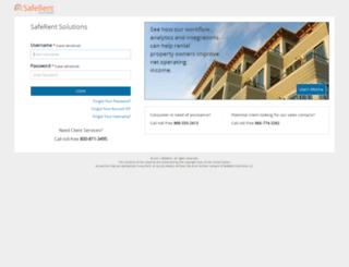 uat.residentscreening.net screenshot