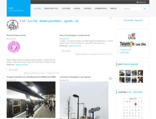 uaulis.asso.fr screenshot