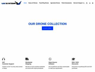 uavsystemsinternational.com screenshot