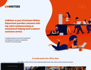uawriters.com screenshot