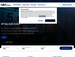 uax.es screenshot