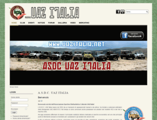 uazitalia.org screenshot