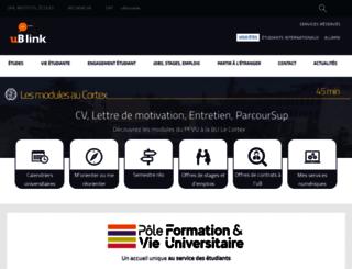 ub-link.u-bourgogne.fr screenshot