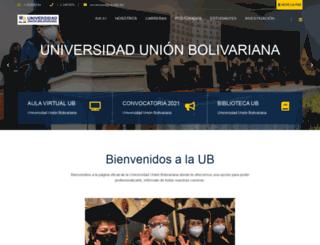 ub.edu.bo screenshot