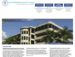 uba.net.ve screenshot