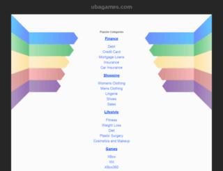 ubagames.com screenshot