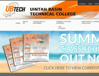 ubatc.edu screenshot