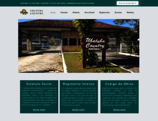 ubatubacountry.com.br screenshot