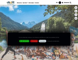 ubaye.com screenshot