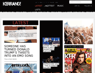 ubb.kerrang.com screenshot