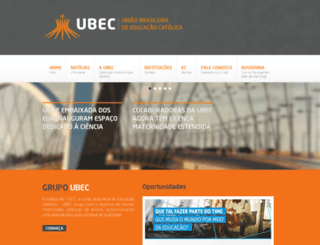 ubec.edu.br screenshot
