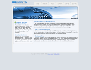 uberbots.net screenshot