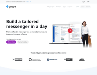 ubergrape.com screenshot