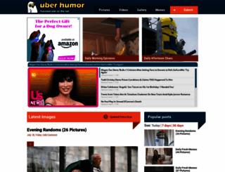 uberhumor.com screenshot