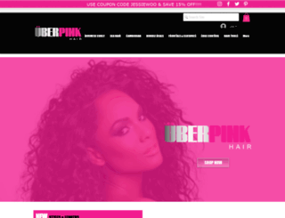 uberpinkhair.com screenshot