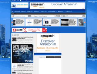 ubertechnewsblog.com screenshot