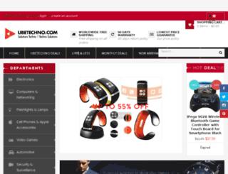 ubetechno.myshopify.com screenshot