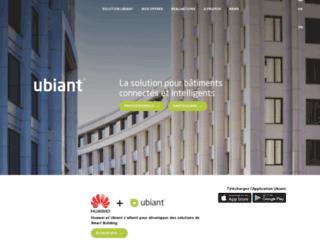 ubiant.com screenshot