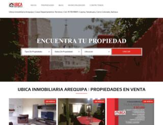 ubicainmobiliaria.com screenshot