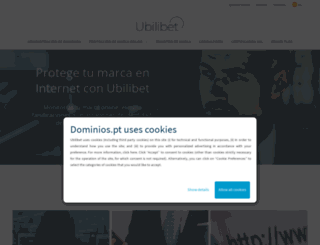 ubilibet.com screenshot