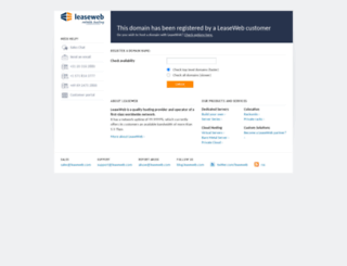 ubiquityhosting.com screenshot