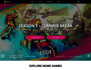 ubisoft.com screenshot