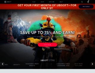 ubisoft.com screenshot