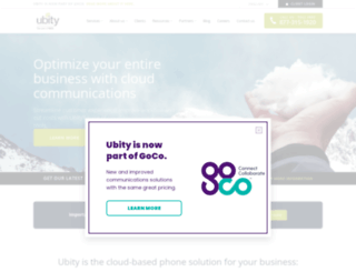 ubity.com screenshot