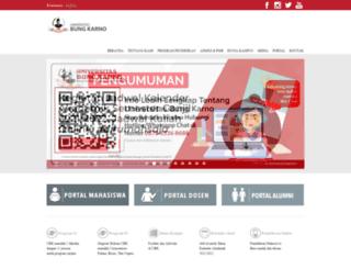 ubk.ac.id screenshot