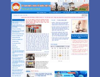 ubmttq.hochiminhcity.gov.vn screenshot