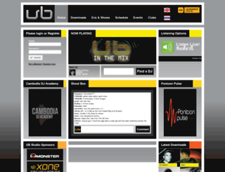ubradio.net screenshot
