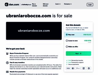 ubraniarobocze.com screenshot