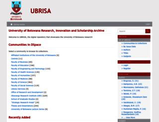 ubrisa.ub.bw screenshot