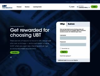 ubt.com screenshot