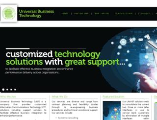 ubtltd.com screenshot