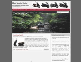 ubudscooterrental.blogspot.com screenshot