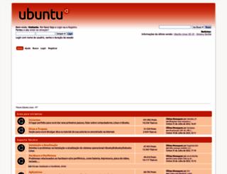 ubuntuforum-br.org screenshot