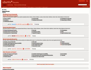 ubuntuforums.org screenshot
