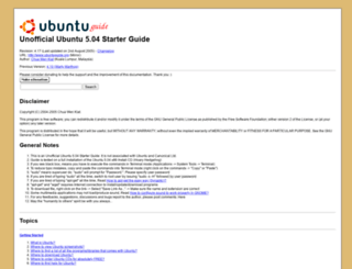 ubuntuguide.org screenshot