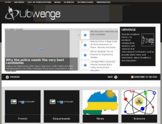 ubwenge.com screenshot