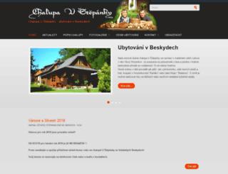 ubytovani-chalupa-beskydy.cz screenshot