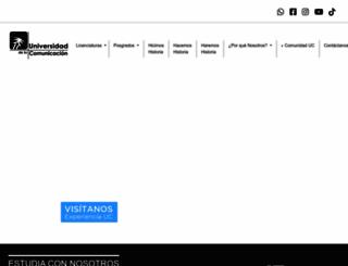 uc.edu.mx screenshot