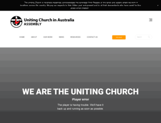 uca.org.au screenshot