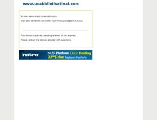 ucakbiletisatinal.com screenshot